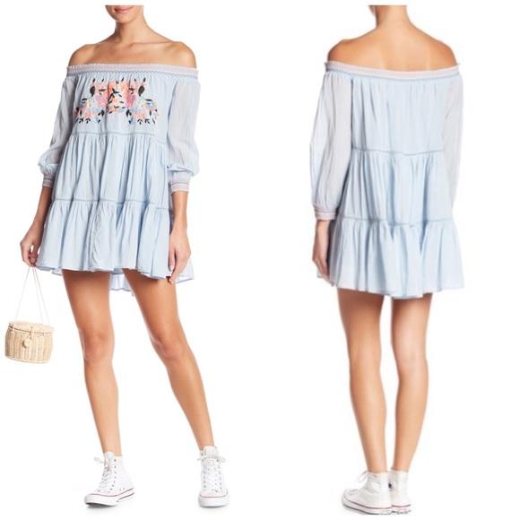Free People Dresses & Skirts - Free People Sunbeams Minidress